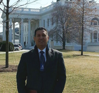 Jason Madiedo at the White House