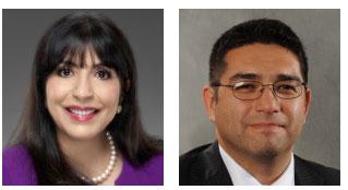 Teresa Palacios Smith and Joe Nery