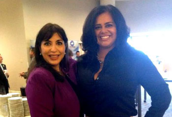 NAHREP National President Elect Teresa Palacios Smith and Orange County Chapter President Tina Marie Estrada