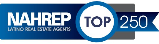 NAHREP Top 250 Latino Real Estate Agents Logo