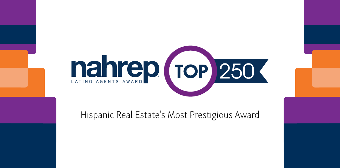 NAHREP Top 250 Latino Agents Award