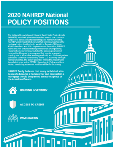 NAHREP Policy Positions