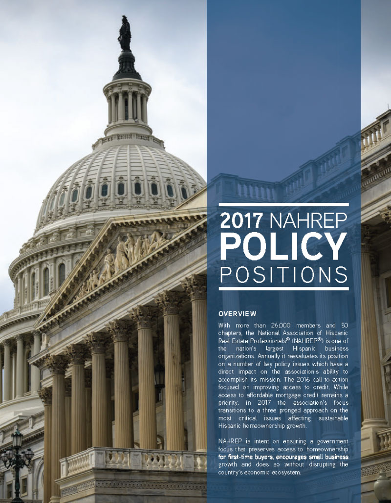 2017 Policy Positions