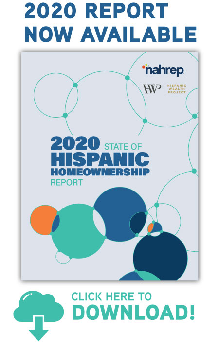 Download the 2020 State of Hispanic Homeownership Report